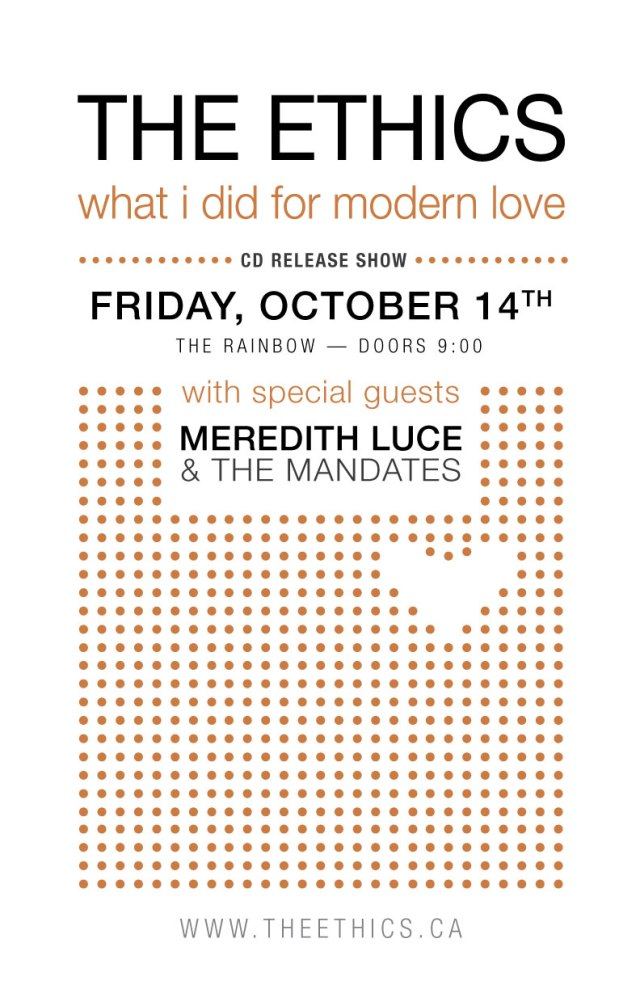 Oct 14 Gig Poster